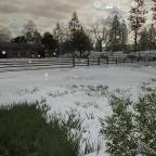 Winter auf der map