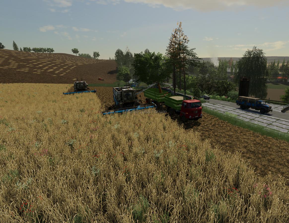 Ernte ist voll im Gange