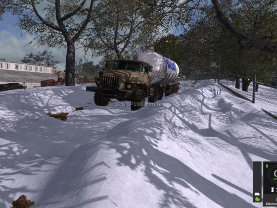 Wintereinsatz auf der LPG
