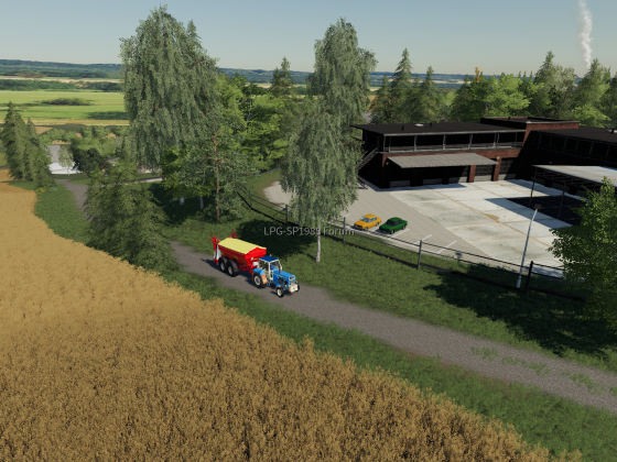 Mit 3 KM/H zum Hof