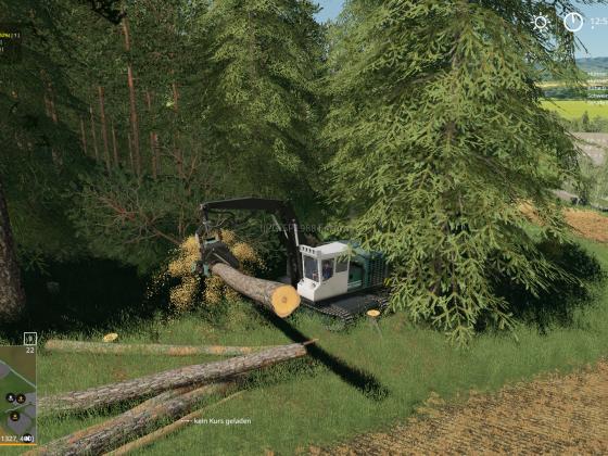Endlich wieder Bäume fällen