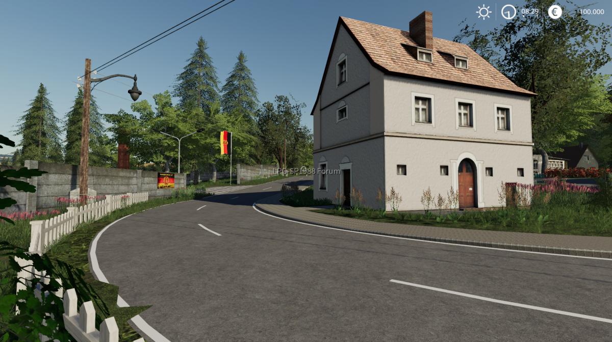 Unterlemnitz umgebaut
