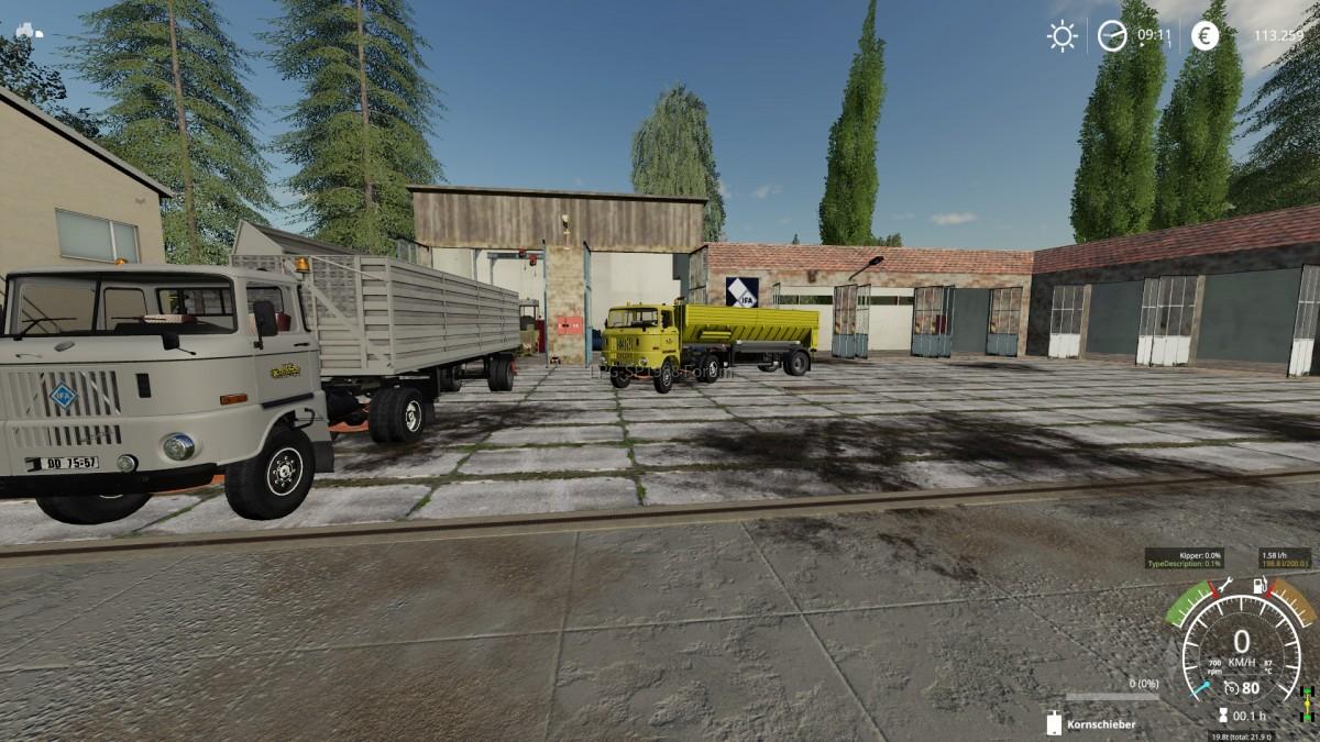 meine LKW-Flotte