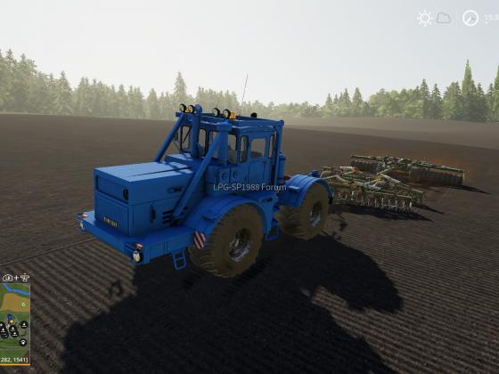 Bodenbearbeitung mit schwerer Technik